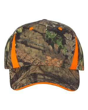 Outdoor Cap CBI305 Mossy Oak Country/ Blaze