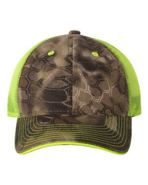 Outdoor Cap CGWM301 Kryptek Highlander/ Neon Yellow