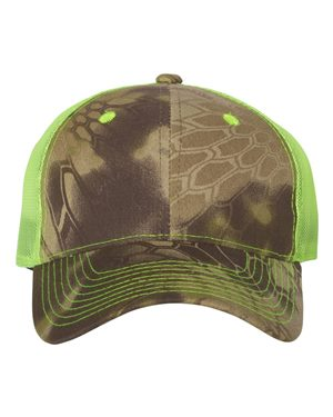 Outdoor Cap CNM100M Kryptek Highlander/ Neon Yellow