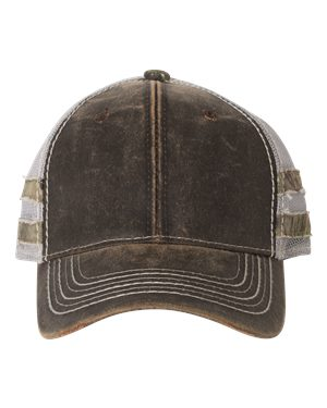 Outdoor Cap HPC400M Brown/ Light Grey/ Country