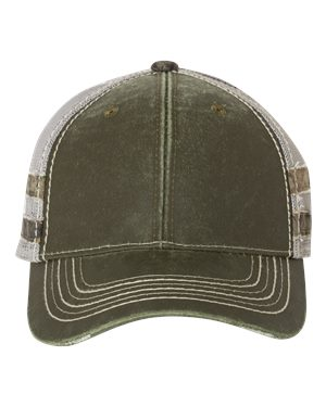 Outdoor Cap HPC400M Olive/ Light Grey/ Country