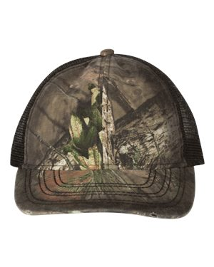 Outdoor Cap OSC100M Mossy Oak Country/ Black