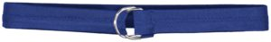 Russell 1 1/2 - Inch Covered Football Belt ROYAL