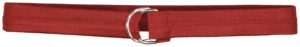 Russell 1 1/2 - Inch Covered Football Belt TRUE RED
