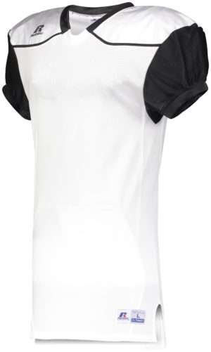 Russell Color Block Game Jersey (Away) WHITE/BLACK