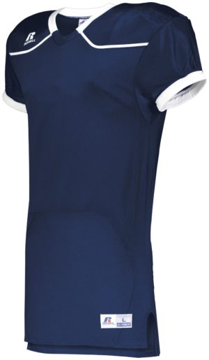 Russell Color Block Game Jersey (Home) NAVY/WHITE
