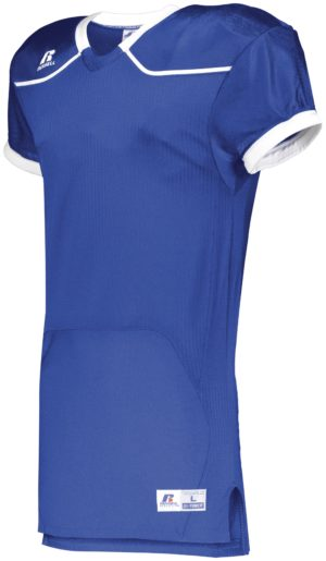 Russell Color Block Game Jersey (Home) ROYAL/WHITE