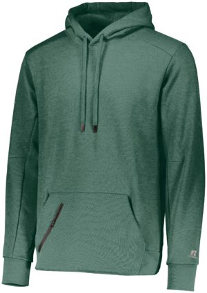 Russell Cotton Rich Pullover GREEN HEATHER