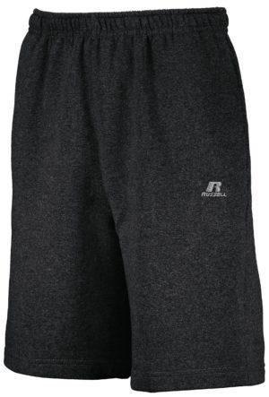 Russell Dri-Power¨ Fleece Training Shorts With Pockets BLACK