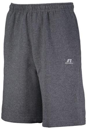 Russell Dri-Power¨ Fleece Training Shorts With Pockets BLACK HEATHER