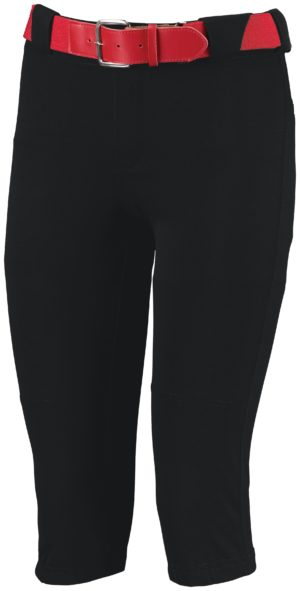 Russell Ladies Low Rise Knicker Length Pant BLACK
