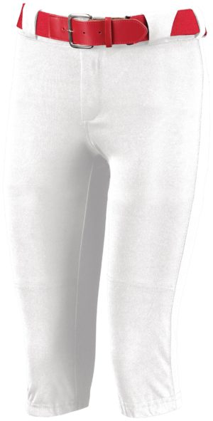 Russell Ladies Low Rise Knicker Length Pant WHITE