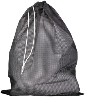 Russell Mesh Laundry Bag BLACK