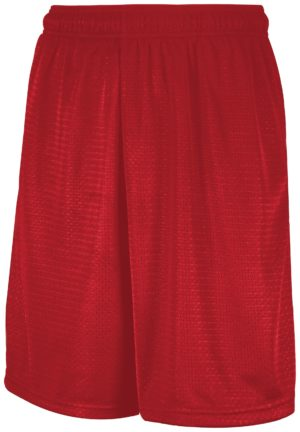 Russell Mesh Shorts With Pockets TRUE RED
