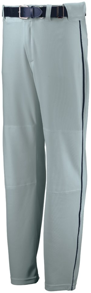 Russell Youth Open Bottom Piped Pant BASEBALL GREY/NAVY