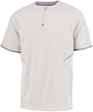 Russell SHORT SLEEVE PULLOVER WHITE/STEALTH