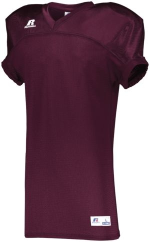 Russell Stretch Mesh Game Jersey MAROON