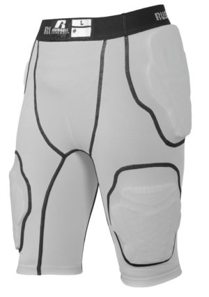 Russell 5-Pocket Integrated Girdle GRIDIRON SILVER