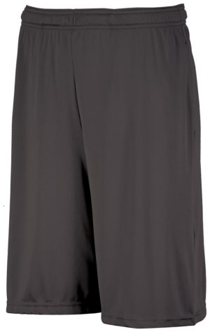Russell Dri-Power¨ Essential Performance Shorts With Pockets STEALTH