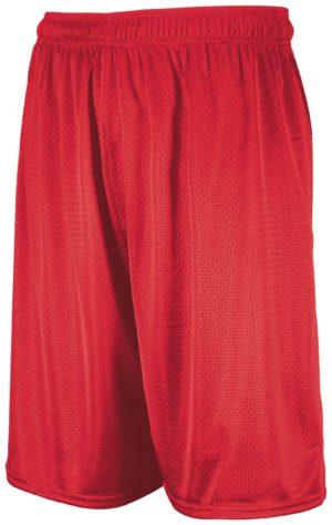Russell Dri-Power Mesh Shorts TRUE RED