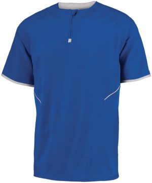 Russell SHORT SLEEVE PULLOVER ROYAL/WHITE