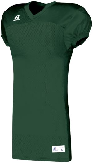 Russell Solid Jersey With Side Inserts DARK GREEN