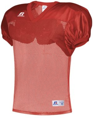 Russell Stock Practice Jersey TRUE RED