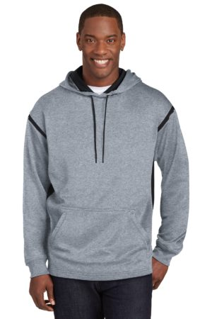 Sport-Tek F246 Grey Heather/ Black