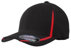Sport-Tek STC16 Black/ True Red