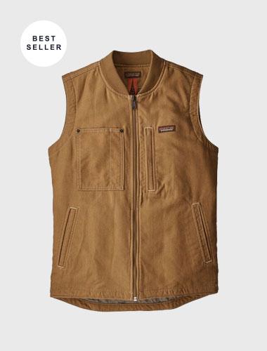 custom patagonia work vests