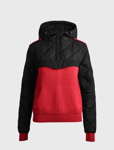 goose down womens knits
