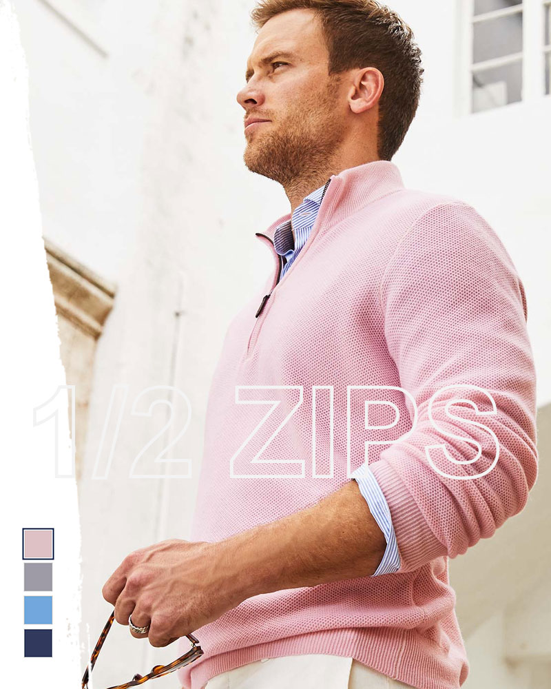 vineyard vines quarter-zips