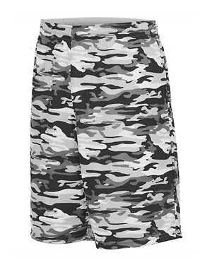 Augusta Sportswear 1407 Black Mod/ White