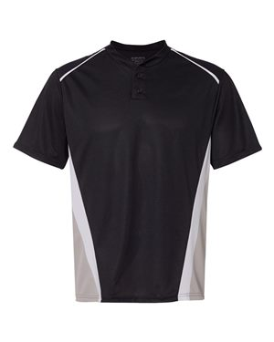 Augusta Sportswear 1525 Black/ Silver Grey/ White