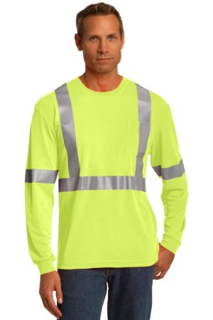 CornerStone CS401LS Safety Yellow/ Reflective