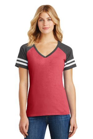 District DM476 Heathered Red/ Heathered Charcoal