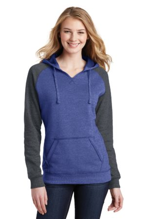 District DT296 Heathered Deep Royal/ Heathered Charcoal