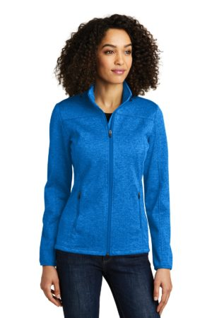 Eddie Bauer EB541 Brilliant Blue Heather/ Grey