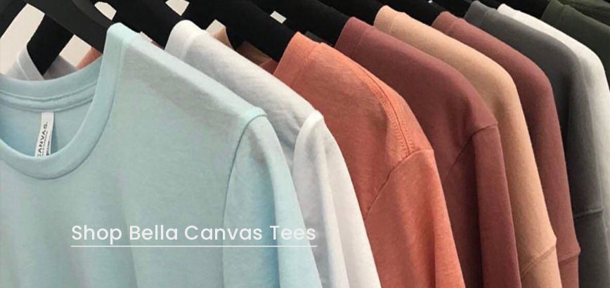 bulk bella canvas t-shirts