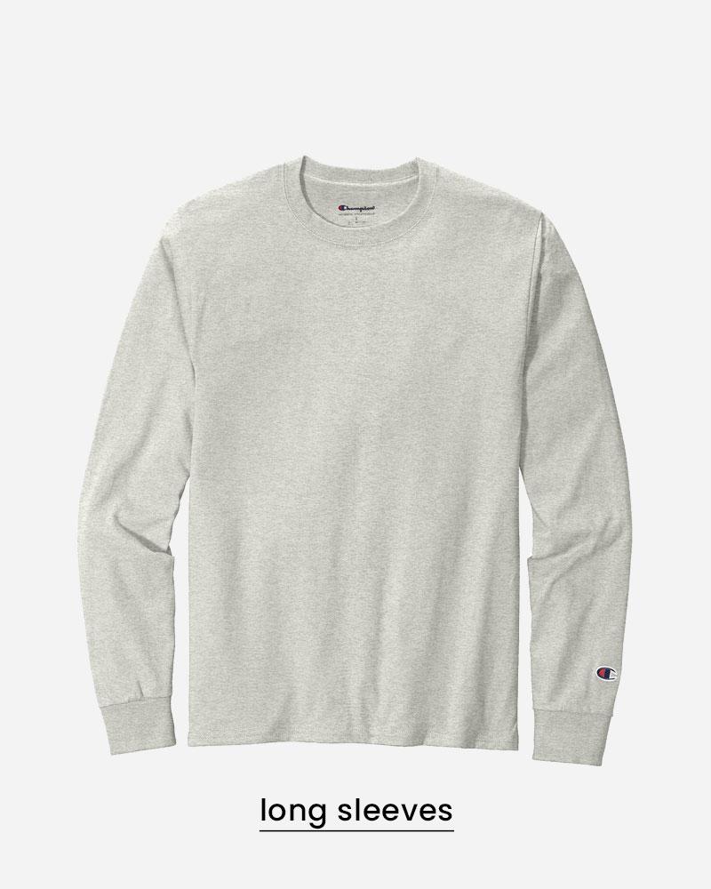 custom long sleeve shirts