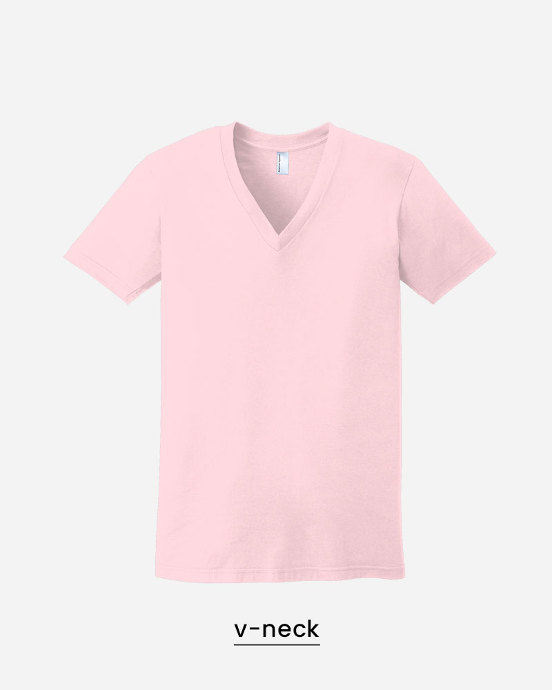 custom v-neck shirts