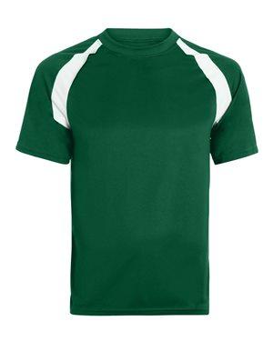 Augusta Sportswear 218 Dark Green/ White