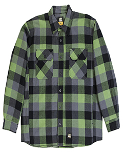 Berne SH69 PLAID GREEN