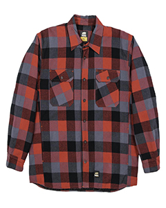Berne SH69 PLAID RED